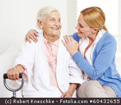 Ein großes Display und einfache Bedienung sind Vorausstzung an ein Seniorentelefon